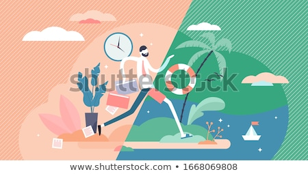 travel vacation concept stock photo © karandaev