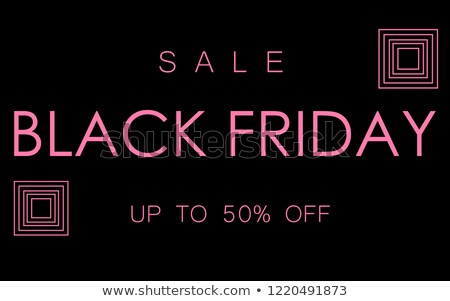 black friday sale best offer of autumn season stock photo © robuart