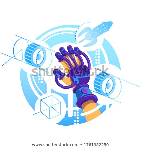 Interactivo virtual realidad Cartoon vector banner Foto stock © robuart