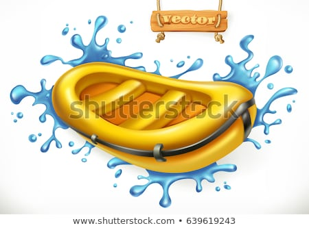Extrema turismo goma barco rafting deporte Foto stock © robuart