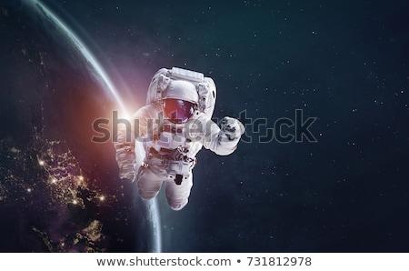 宇宙飛行士 宇宙 星雲 要素 画像 男 ストックフォト © NASA_images