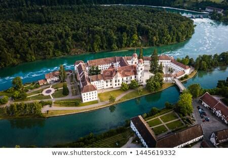 Kloster Rheinau - Canton of Zurich, Switzerland Stock photo © lightpoet