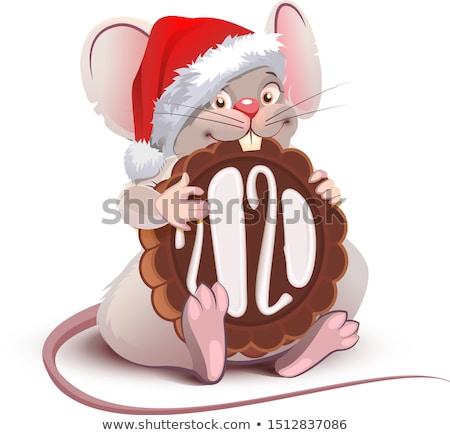 Amuzant desen animat mouse simbol an Imagine de stoc © orensila
