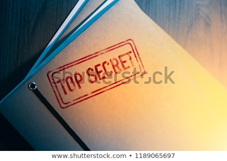 Information Security Top Secret, Secret, Classified, Confidential and Sensitive Stamps Distressed Is Stock photo © jeff_hobrath