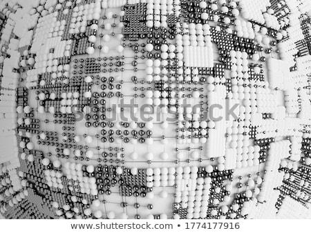 металл аннотация химической структуре белый Сток-фото © evgeny89
