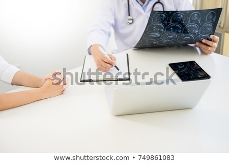 Hoogleraar arts discussie methode patiënt behandeling Stockfoto © Freedomz