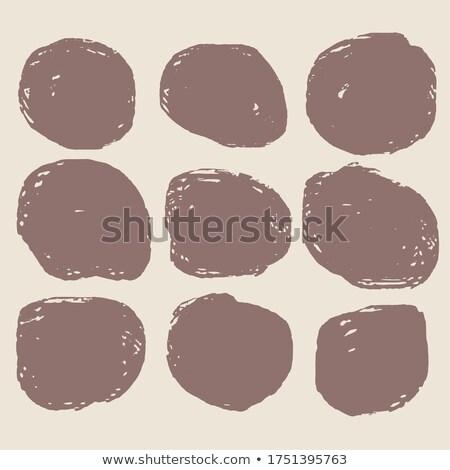 грязные Гранж пятно набор девять Сток-фото © SArts