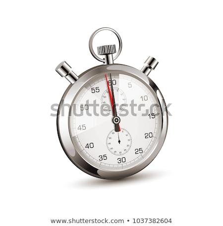 vector speedometer in perspective view stock photo © m_pavlov