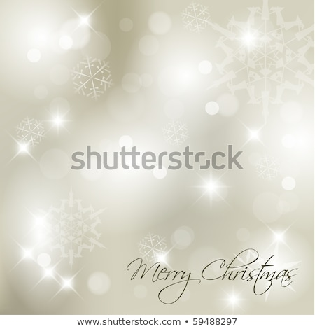 Vector Christmas background with  place for your text Stock photo © orson