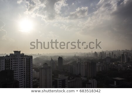 Smog over Sao Paulo  Stock photo © Spectral