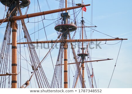 Sailboat Mast Stock photo © tepic