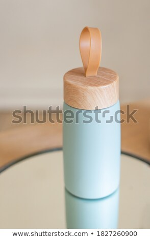mirror with vacuum cup Stock photo © prill