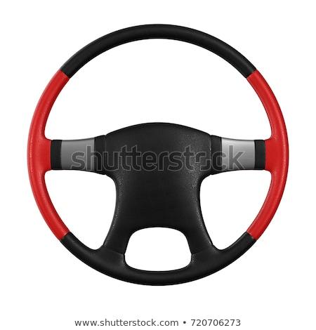 volante · airbag · chifre · motorista · tanto · central - foto stock © iserg