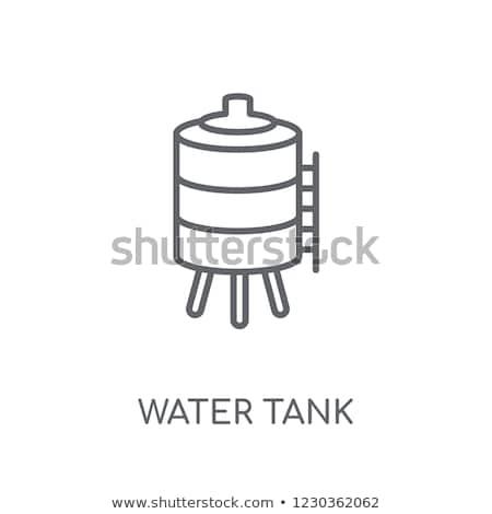 Modern water tank tower Stock photo © CaptureLight