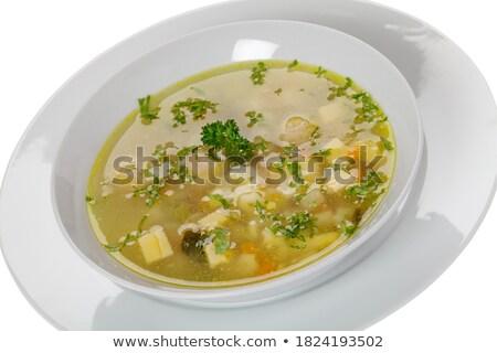 soups insert Stock photo © joker