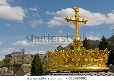 basilica of our lady of the rosary stock photo © ribeiroantonio