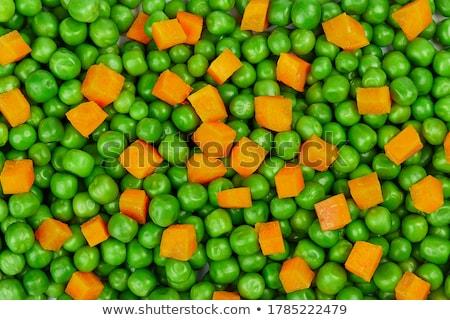 groene · erwten · voedsel · hout · keuken · groep - stockfoto © theprophet