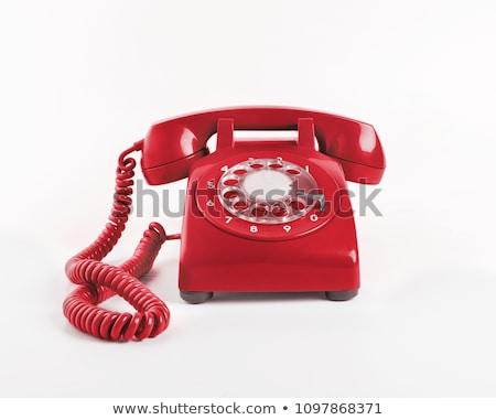 Old-fashioned telephone Stock photo © Arsgera