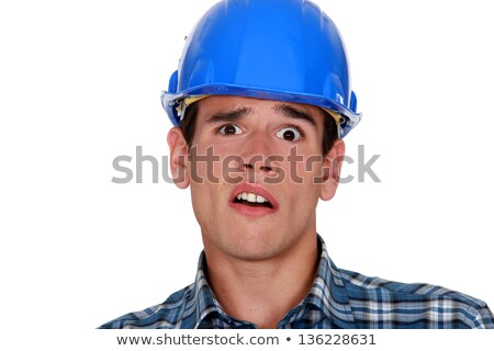 A horrified tradesman Stock photo © photography33