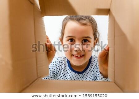 messenger · carton · cases · blanche · papier - photo stock © pzaxe