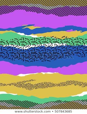 Seamless texture - color iridescent circles Stock photo © pzaxe