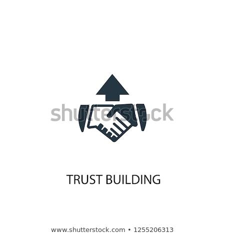 建物 信頼 成長 パートナーシップ ビジネス 金融 ストックフォト © Lightsource