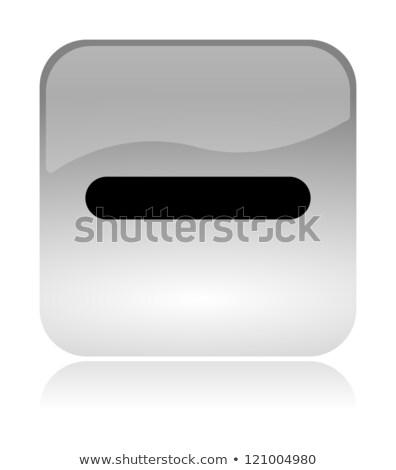 Minus detract web interface icon stock photo © make