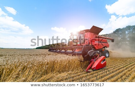 Red combine Stock photo © stevemc