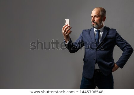 imprenditore · business · suit · nero - foto d'archivio © anna_om