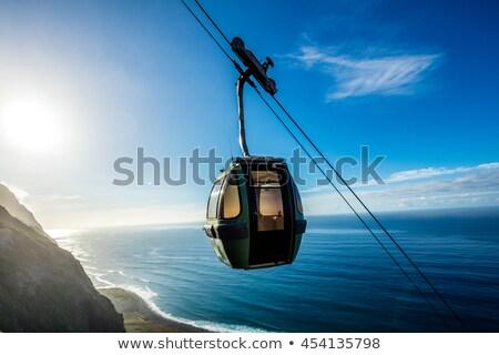 Madeira légifelvétel vidéki táj sziget Portugália égbolt Stock fotó © dinozzaver