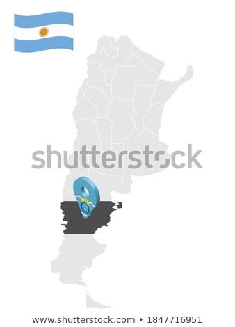 Stock fotó: Zászló · Argentína · vidék · ruha · textil · Amerika