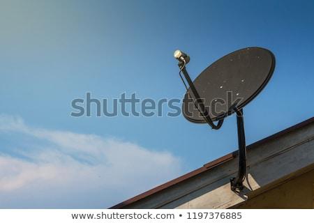 Satellite Installer on Roof Stock photo © 805promo