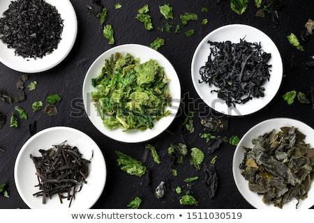 Aszalt hínár étel vegetáriánus természetes absztrakt Stock fotó © lunamarina