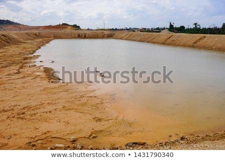 Contaminated area Stock photo © Givaga