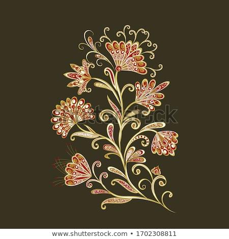 фантастический аннотация букет цветы вектора цветок Сток-фото © Coffeechocolates
