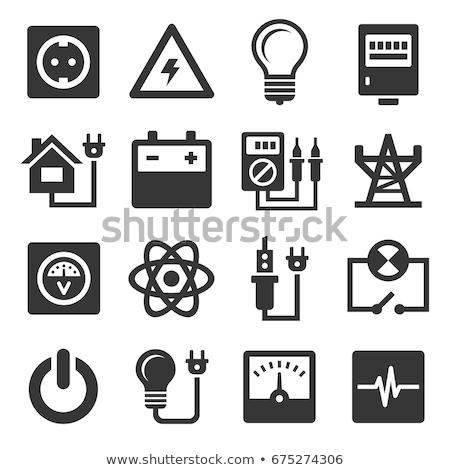 Destornillador electricidad corriente detector pluma tecnología Foto stock © FOKA