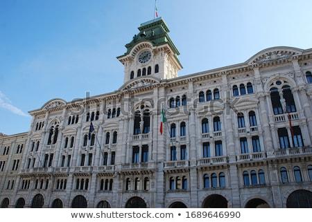 City Hall, Palazzo del Municipio, Trieste, Italy. Stock photo © kasto
