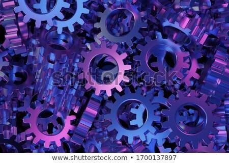 Grafika fölösleges közelkép izolált technológia ipar Stock fotó © OleksandrO