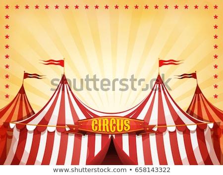 Circus Carnival Tent Stock photo © benchart
