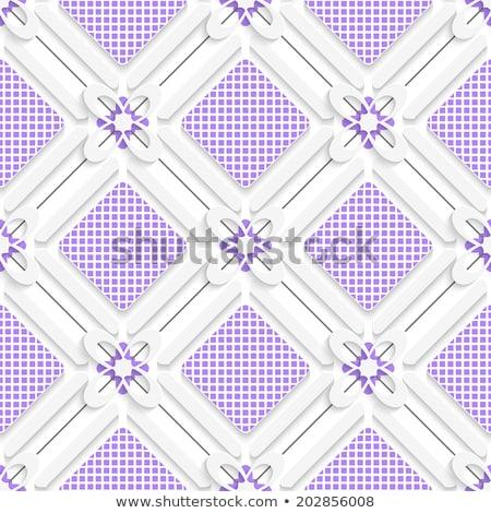 Roxo florescer telha ornamento abstrato sem costura Foto stock © Zebra-Finch