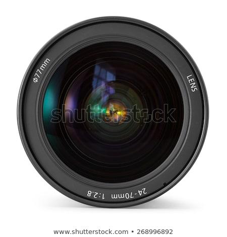 カメラレンズ 孤立した 白 ストックフォト © bmonteny