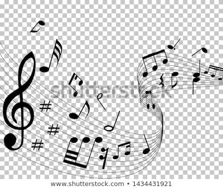 Grunge Melodie abstrakten Texturen Hintergrund Raum Stock foto © ilolab