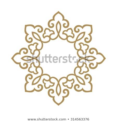 Decorativo ornamento árabe padrão projeto Foto stock © elenapro