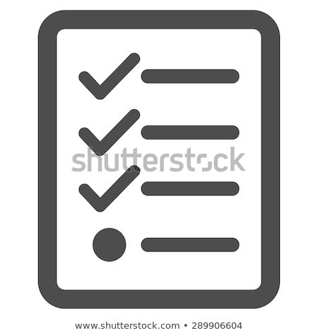 lista · cinza · texto · ícone · vetor · projeto - foto stock © aliaksandra