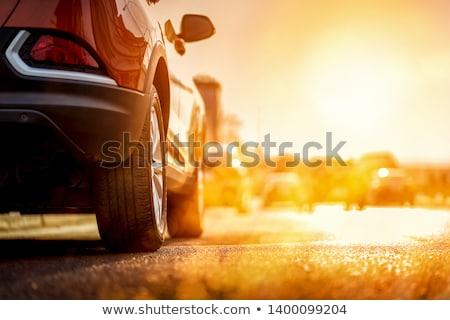 Traffic in Sunset Stock photo © stevanovicigor
