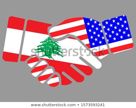 США Ливан Соединенные Штаты Америки стране Сток-фото © tony4urban