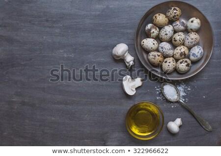 Quail eggs in spoon Stock photo © mady70