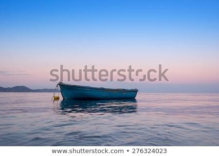 одиноко традиционный греческий морем воды Сток-фото © Fesus