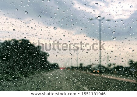 absztrakt · kép · zuhan · eső · cseppek · ablak - stock fotó © Ainat