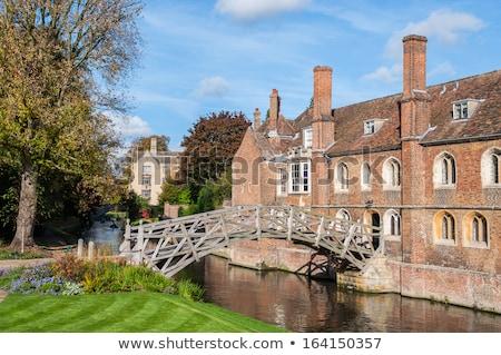 ケンブリッジ · イングランド · 高い · 表示 · 歴史的な建物 · 市 - ストックフォト © andreykr